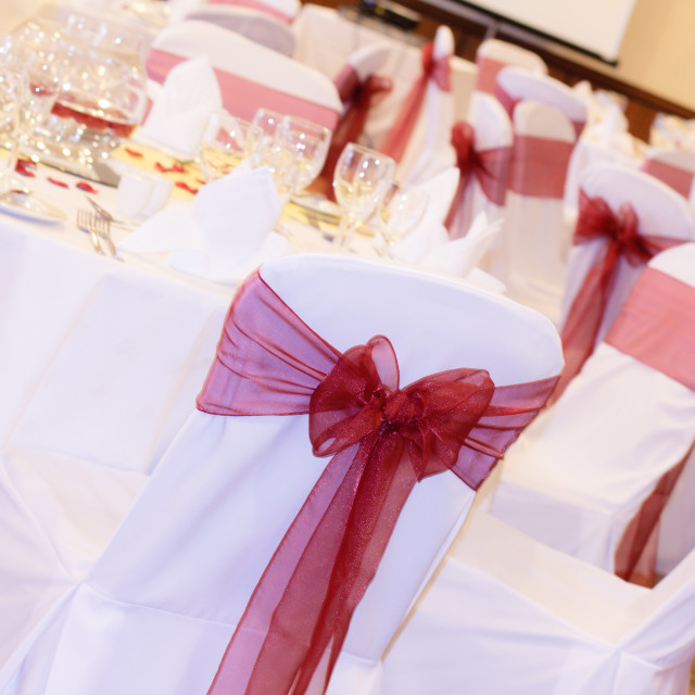 """Wedding reception"" stock image"