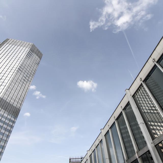 """Modern Architecture in Frankfurt am Main"" stock image"