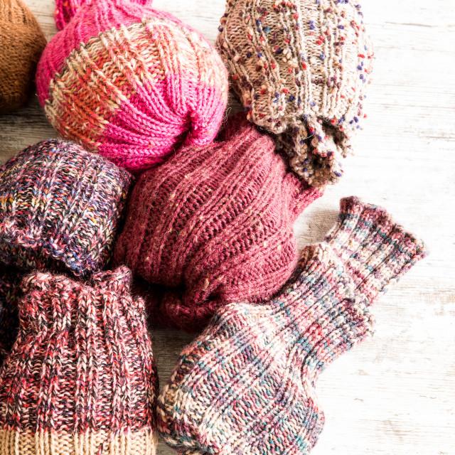 """Woolen Socks"" stock image"