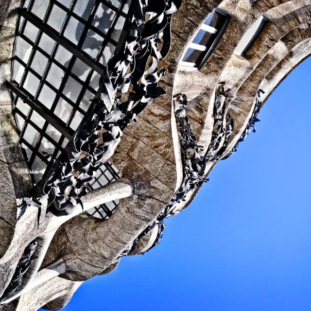 """La Pedrera, Casa Milá, Antoni Gaudí"" stock image"
