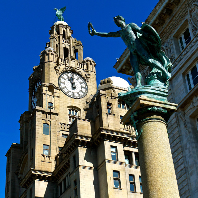 """""""Liverpool Waterfront 3"""" stock image"""