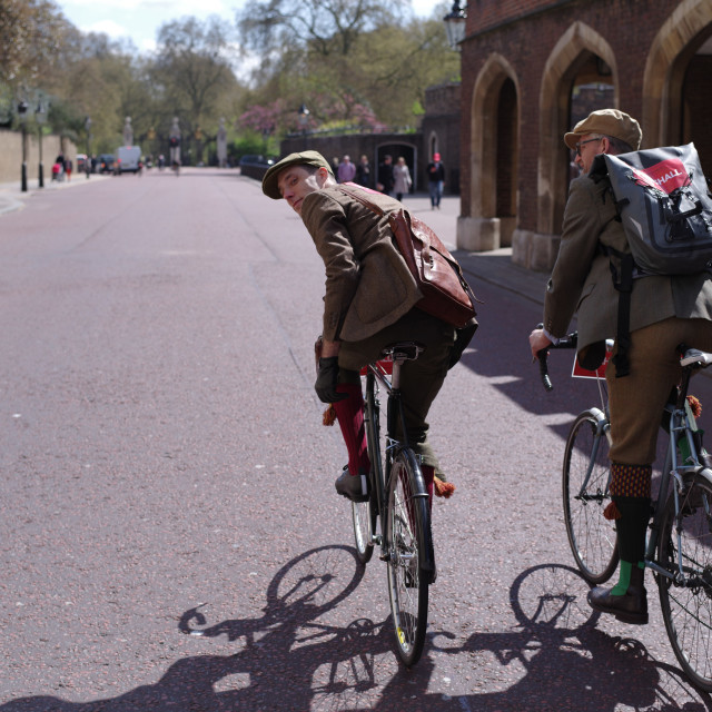 """Tweed Run"" stock image"