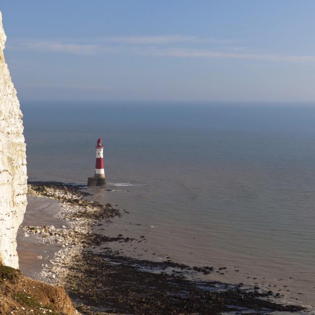 """Beachy Head Lighthouse 2"" stock image"