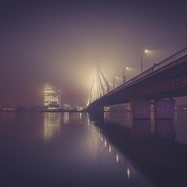 """""""Riga, Latvia."""" stock image"""