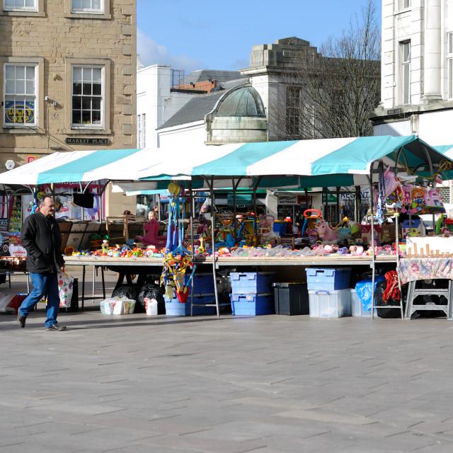 """Mansfield Market"" stock image"