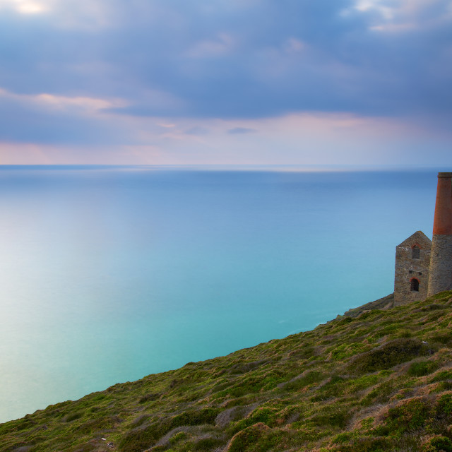 """Wheal Coates Tin Mine"" stock image"