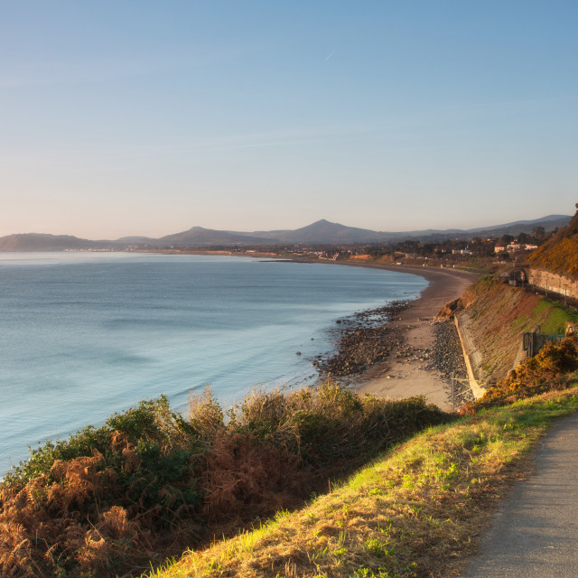 """White Rock, Killiney 2"" stock image"