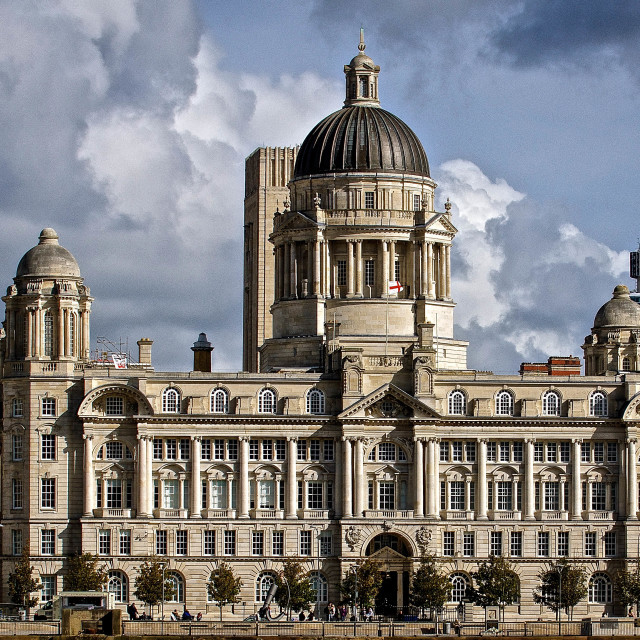 """Port of Liverpool Building 1"" stock image"