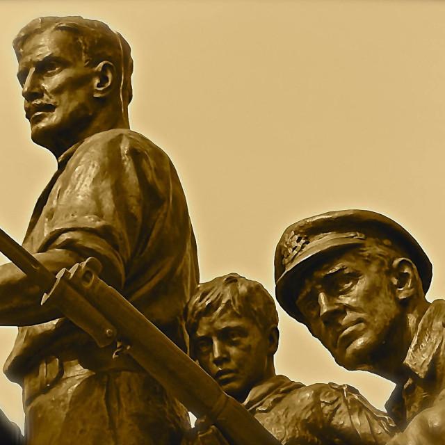 """War and Propaganda"" stock image"