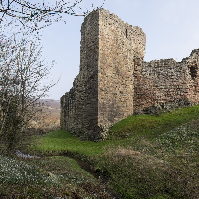 """Hailes Castle"" stock image"