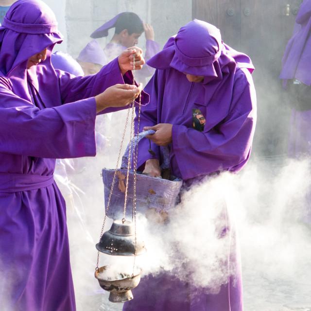 """Semana santa Guatemalteca"" stock image"