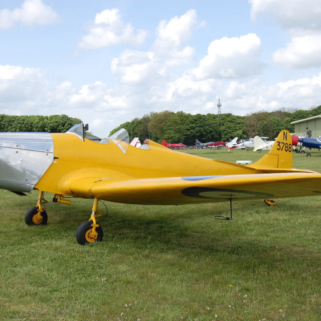 """Miles M.14A Hawk Trainer III - the Magister"" stock image"