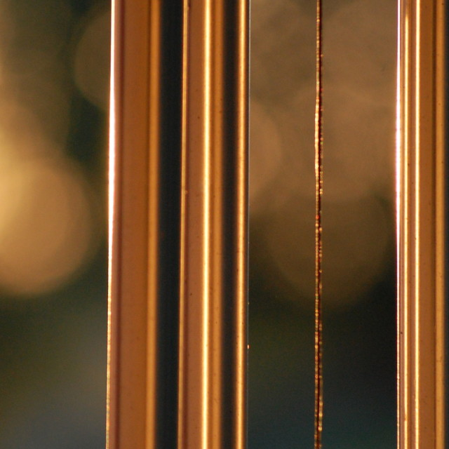 """Golden Chimes"" stock image"