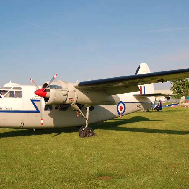 """Hunting Percival Pembroke C. Mk1, light transport aircraft"" stock image"