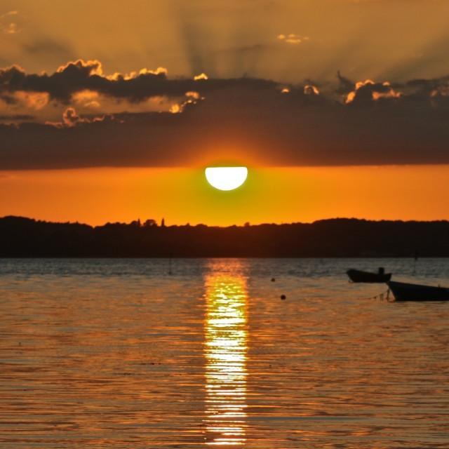 """""""Sunset Denmark"""" stock image"""