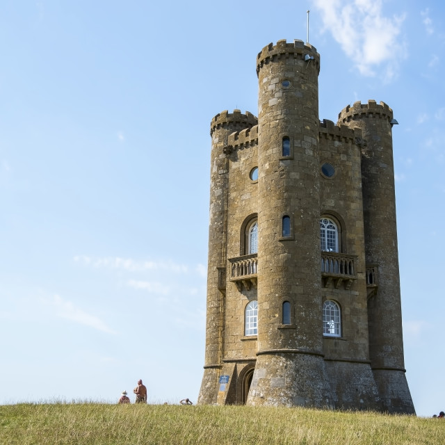 """""""Hill Tower (1)"""" stock image"""