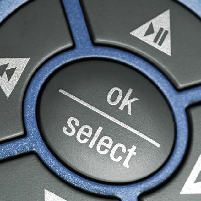 """""""ok select"""" stock image"""