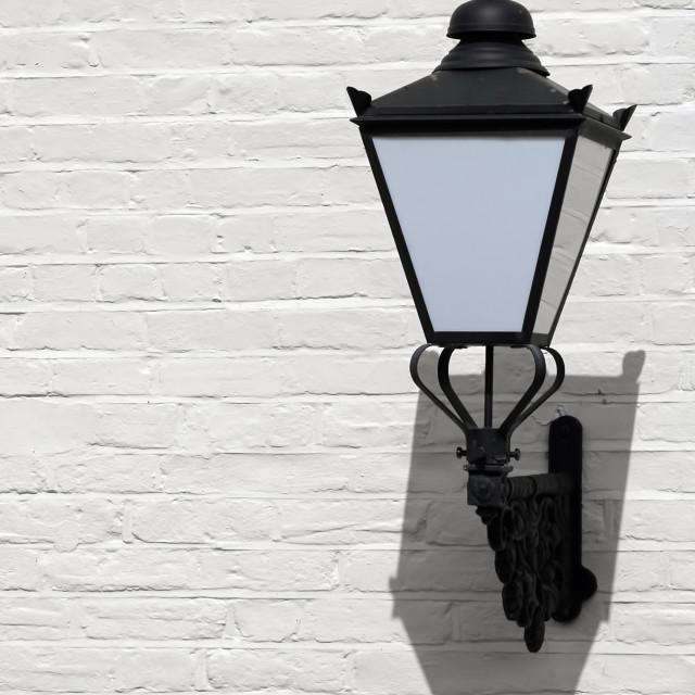 """wall mounted lantern"" stock image"