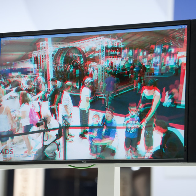 """3D tv"" stock image"