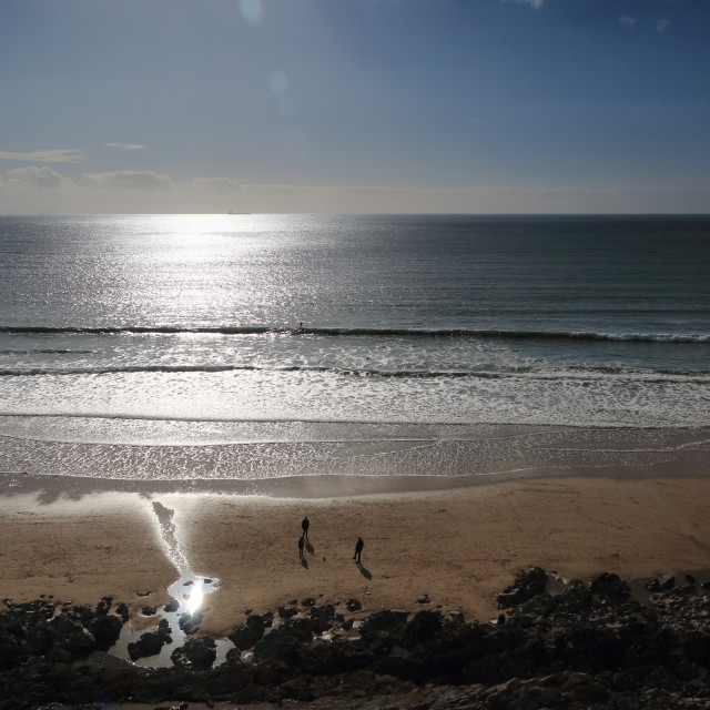 """Caswell Bay, Gower"" stock image"