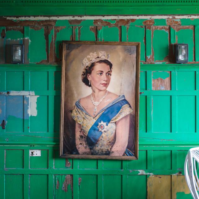 """""""Royal Portrait"""" stock image"""