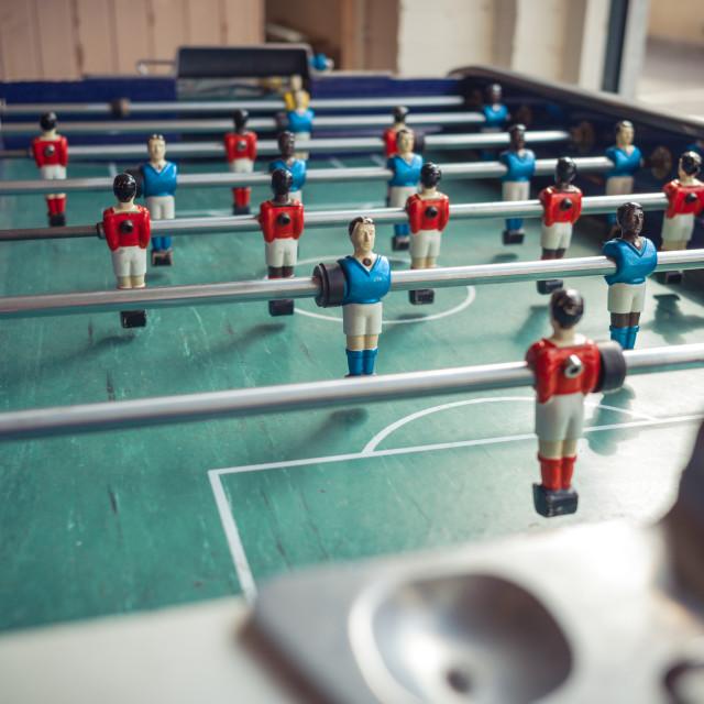 """Bar football"" stock image"