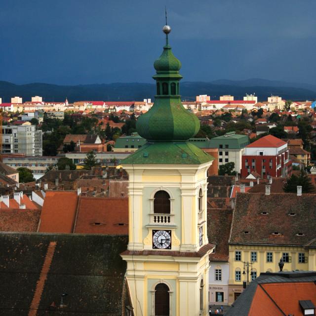 """Sibiu City"" stock image"