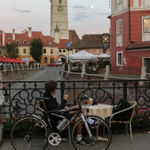 """Liars Bridge Sibiu view"" stock image"