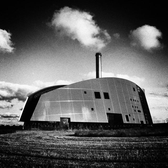 """Viborg Power Station"" stock image"