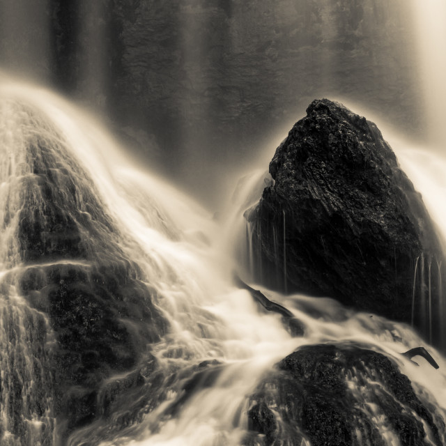 """""""The waterfall magic"""" stock image"""