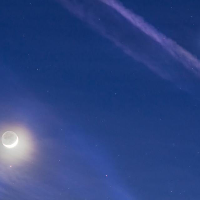 """""""Wonders Of The Night Sky"""" stock image"""