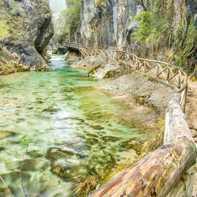 """Borosa river"" stock image"