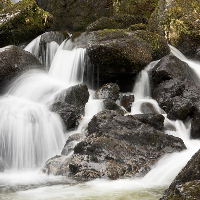 """Ladore Falls"" stock image"
