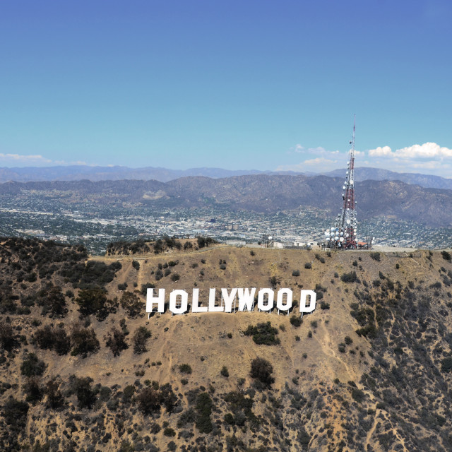 """""""Hollywood Sign"""" stock image"""