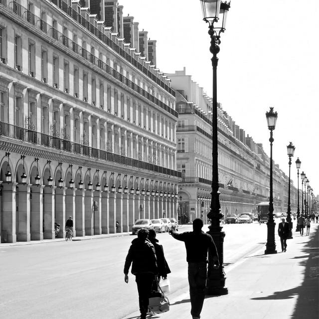 """""""Rue de Rivoli"""" stock image"""