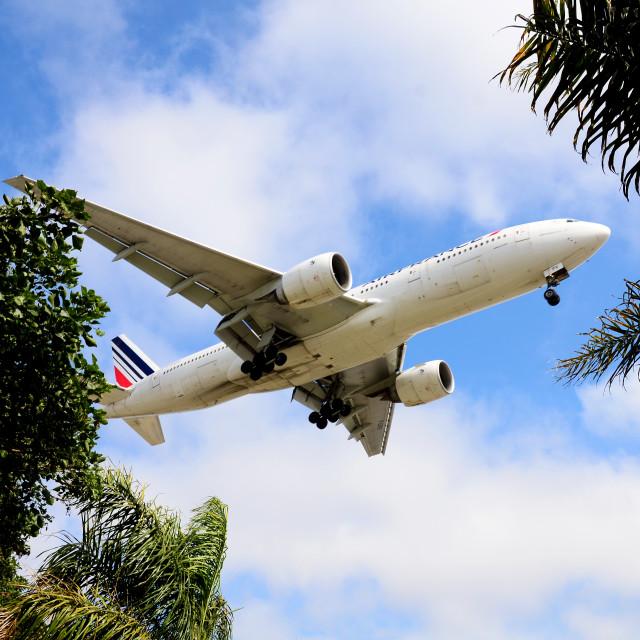 """""""Safe Landing"""" stock image"""