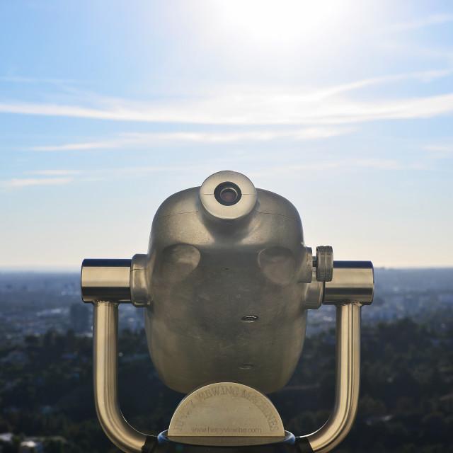 """""""Scope Views"""" stock image"""