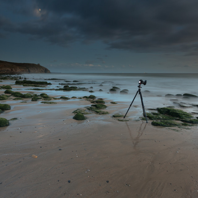 """Seascape setup"" stock image"
