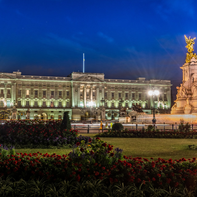 """Buckingham Palace"" stock image"