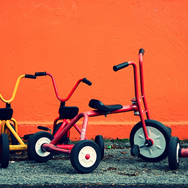 """Tricycles"" stock image"