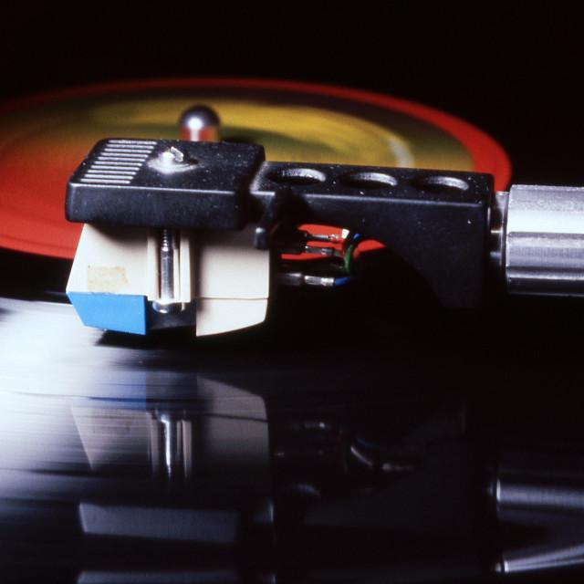 """Old vinyl"" stock image"