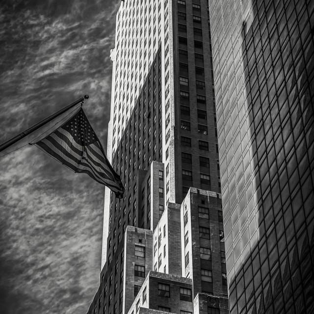 """""""Manhattan Titans"""" stock image"""