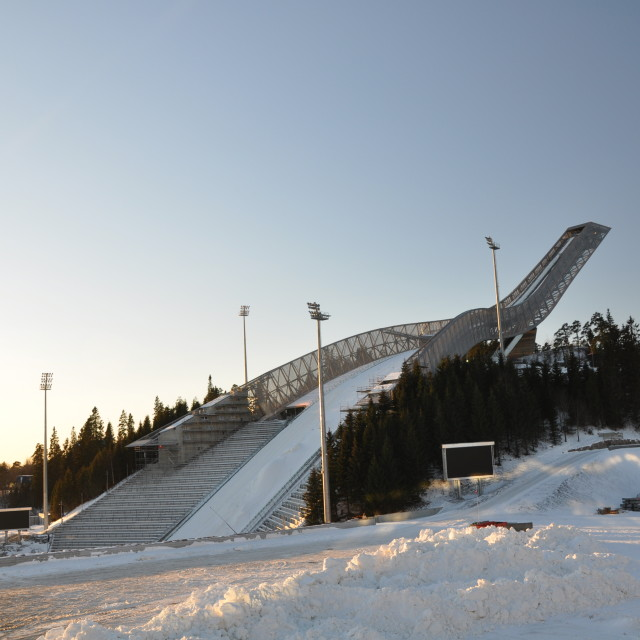 """Ski Jump"" stock image"