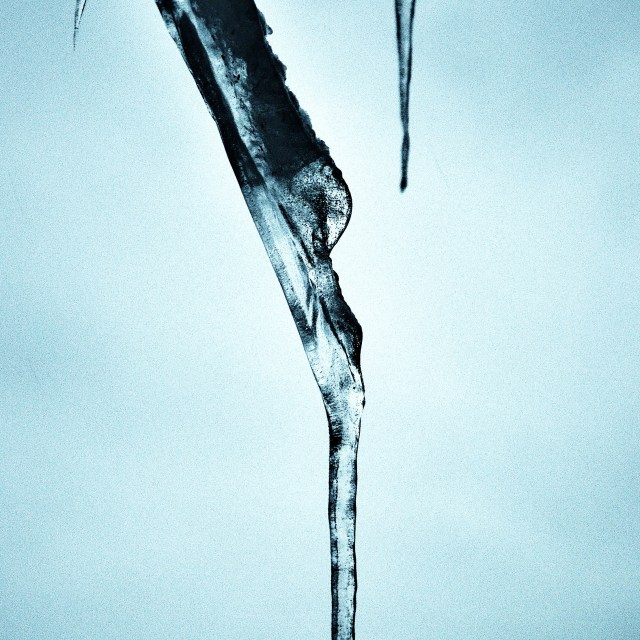 """Icicles"" stock image"