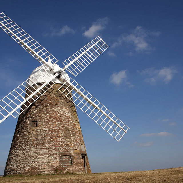 """Halnaker Windmill Sussex"" stock image"