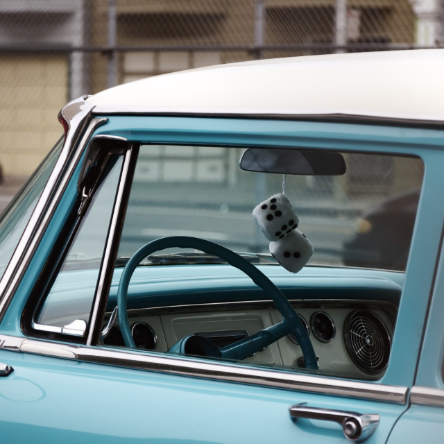 """Nostolgic but classy motoring"" stock image"