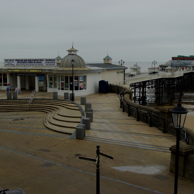 """Cromer Pier"" stock image"