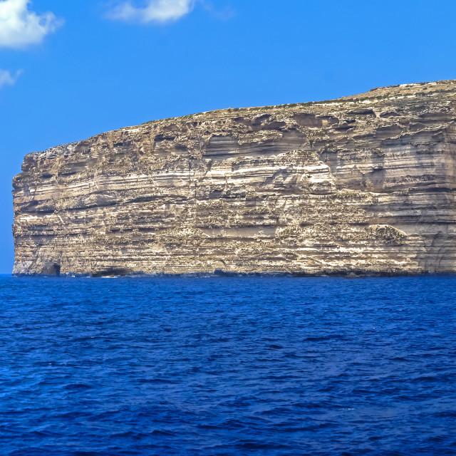 """Dingli Cliffs"" stock image"