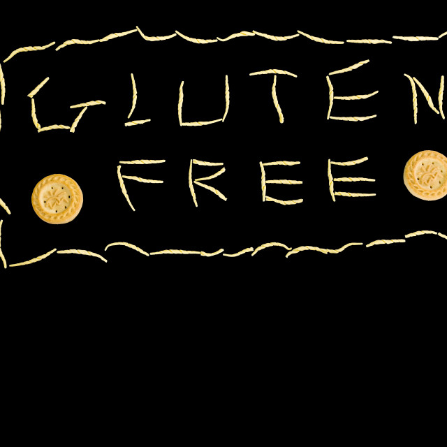 """""""pasta and biscuits gluten free"""" stock image"""