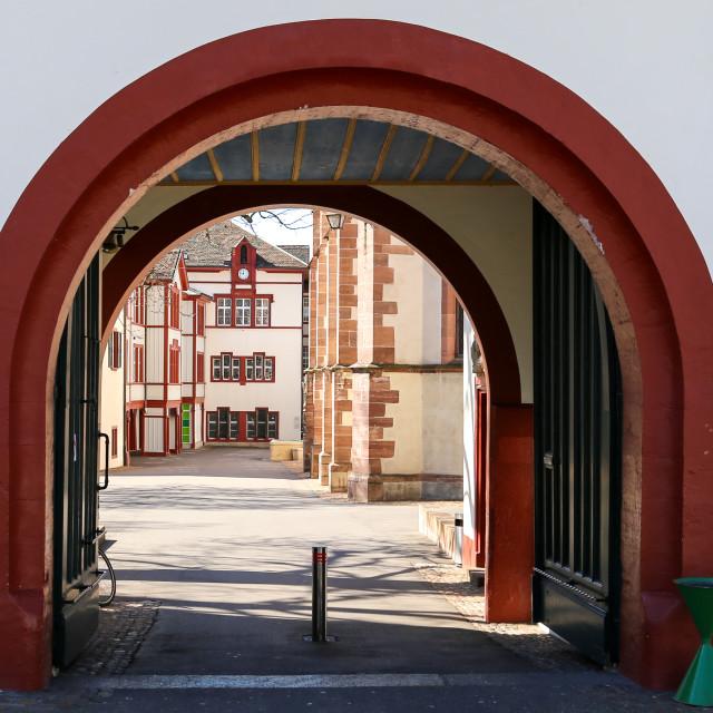 """""""Doorway Arch"""" stock image"""